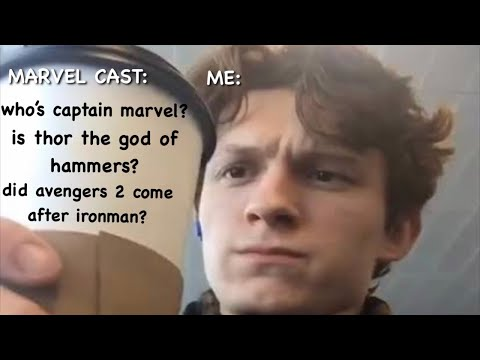 The Marvel Cast Being Completely Clueless About Marvel For 7 Minutes Straight