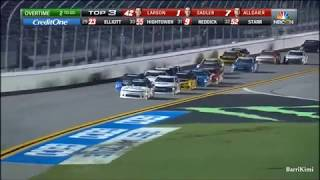 NASCAR Xfinity Series Daytona July 2018 Race Finish