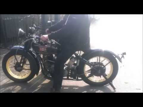 Excelsior Henderson Super X 1927 750cc V Twin