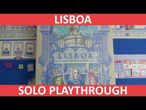 Lisboa - Solo Playthrough