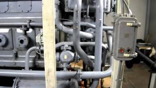 MAN 23/30 Дизель-генератор 1мВт(Сделано в России, дизель 8ЧН22/28, 1000 об.мин. Работает в Италии., 2015-12-04T14:13:00.000Z)
