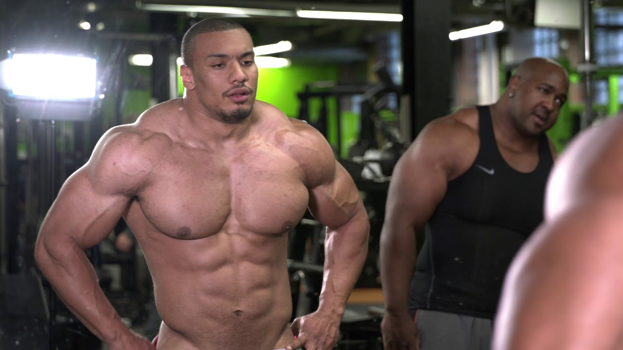 Larrywheels 8 Weeks Out From My First Bodybuilding Show