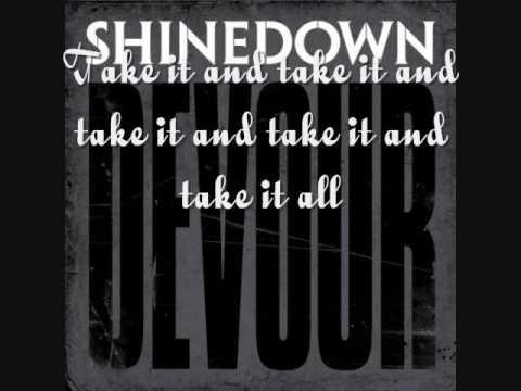 Shinedown-Devour Lyrics