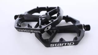 Crank Brothers Stamp Platform Pedals BLK