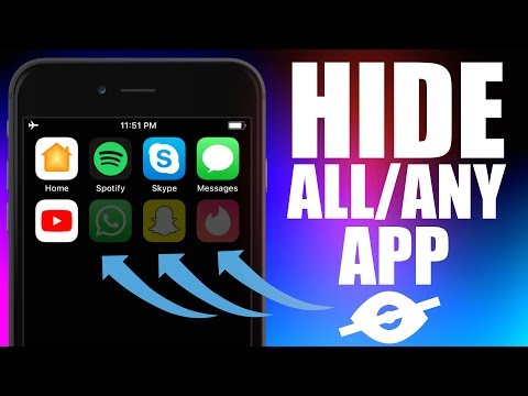 How To Hide Apps On Your iPhone! (2020).