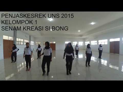 Senam Kreasi Si Bong Penjas'15 UNS