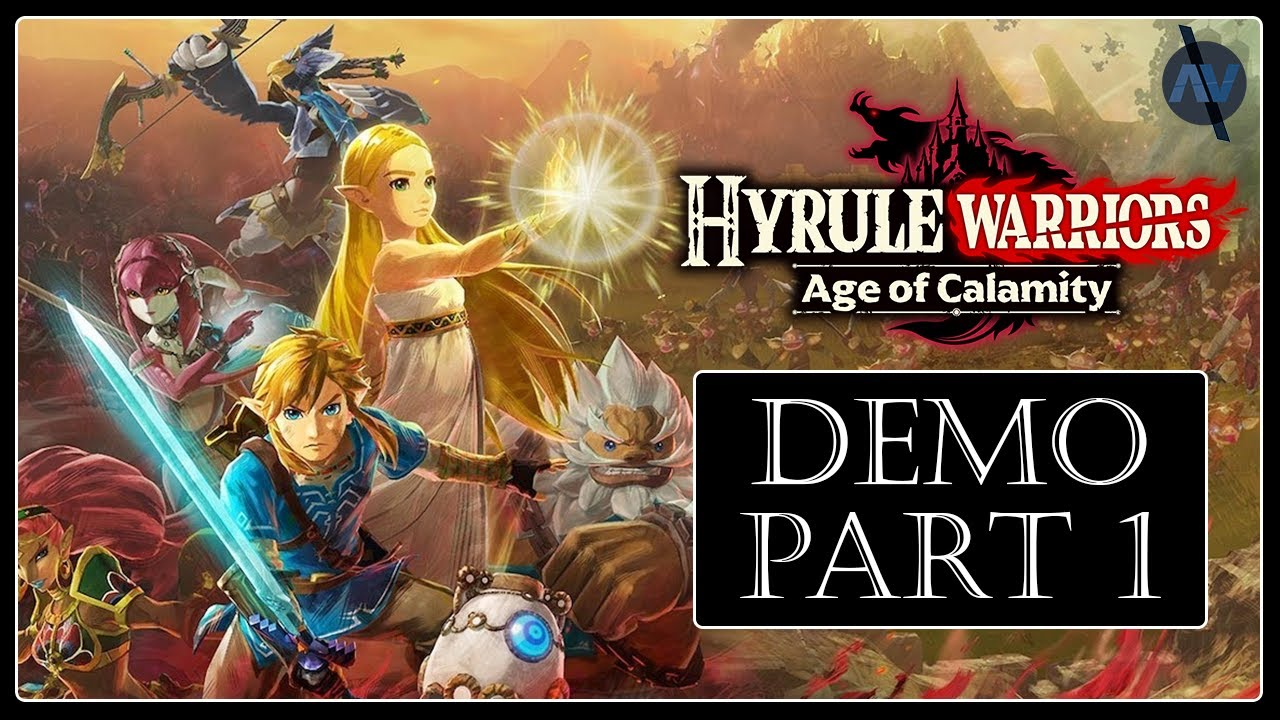Prologue Of The Wild 01 Hyrule Warriors Age Of Calamity Demo Hard Difficulty Youtube