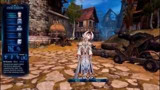 Forsaken World - Обзор игры, выбора персонажа [720p]