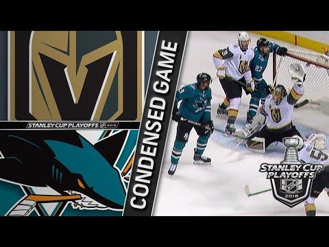 05/06/18 Second Round, Gm6: Golden Knights @ Sharks
