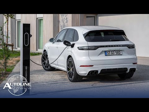 Porsche Cayenne PHEV, EVs Worry Platinum Suppliers - Autoline Daily 2653