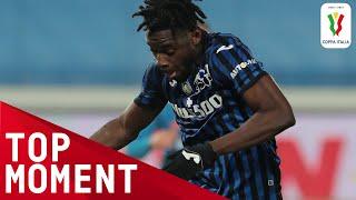 Zapata s BRILLIANT 10th minute strike Atalanta 3 1 Napoli Top Moment Coppa Italia 2020 21