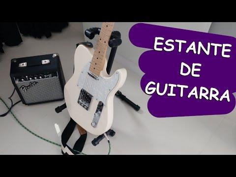 Como fazer Estante para guitarra com tubo de pvc - DIY | Rapidinhas #1