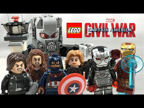 LEGO Captain America Civil War Airport Battle set review! 76051