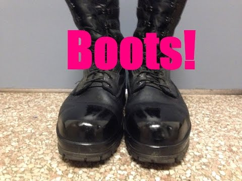 How To Shine Your Boots!