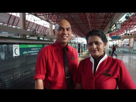 Day in a Life of Senior Asst Station Manager Amran of Jurong East station