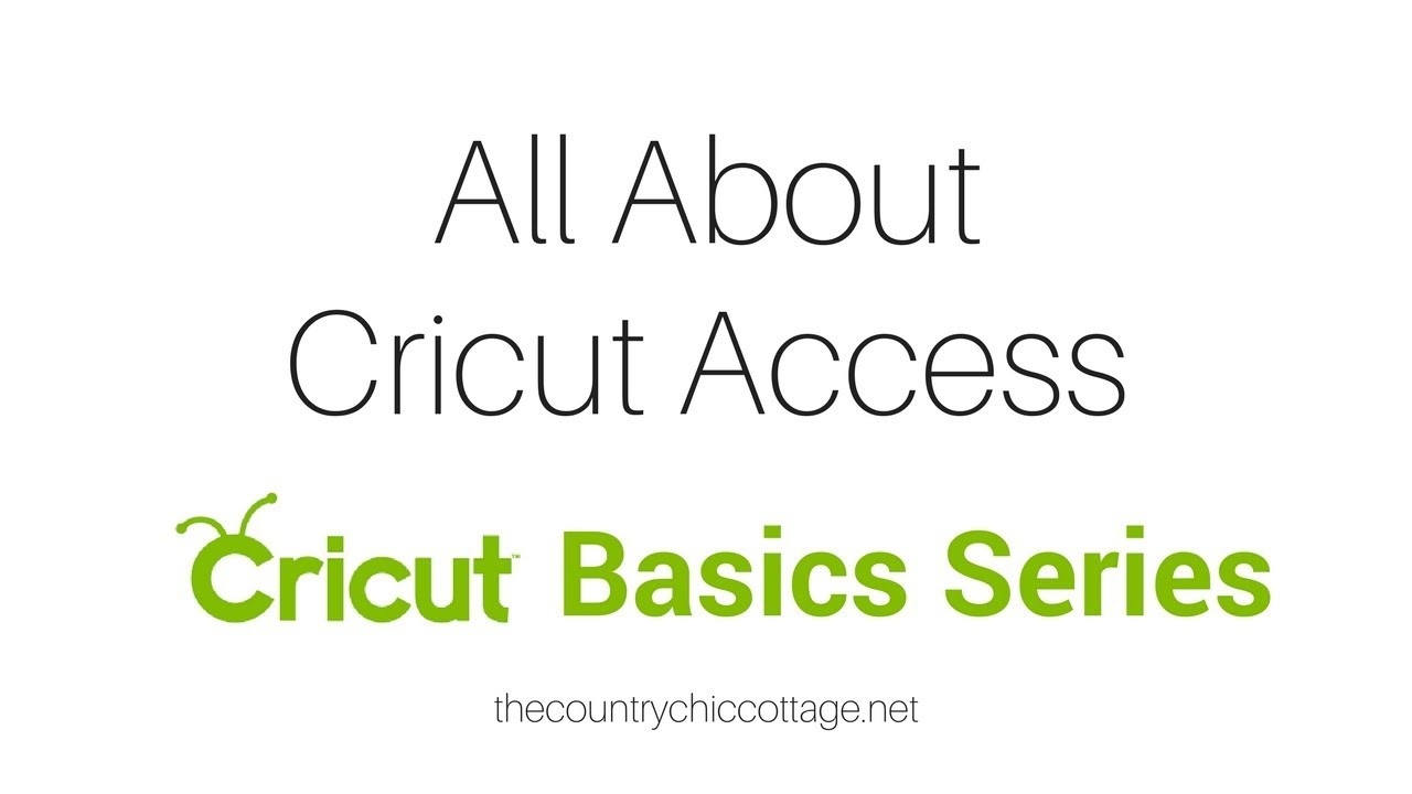 Cricut Access: Everything You Need to Know