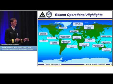 Plenary - Rear Admiral Tim Gallaudet, USN