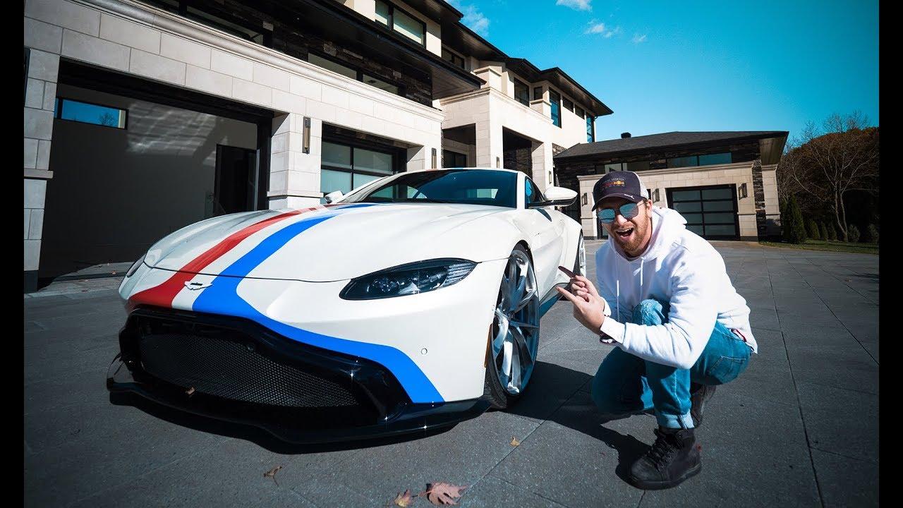 First Modified 2019 Aston Martin Vantage Youtube