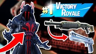 ICE KING SKIN + PUMP & DEAG (HIGH KILL SOLO WIN) + KEYBOARD CAM (Fortnite Battle Royale)