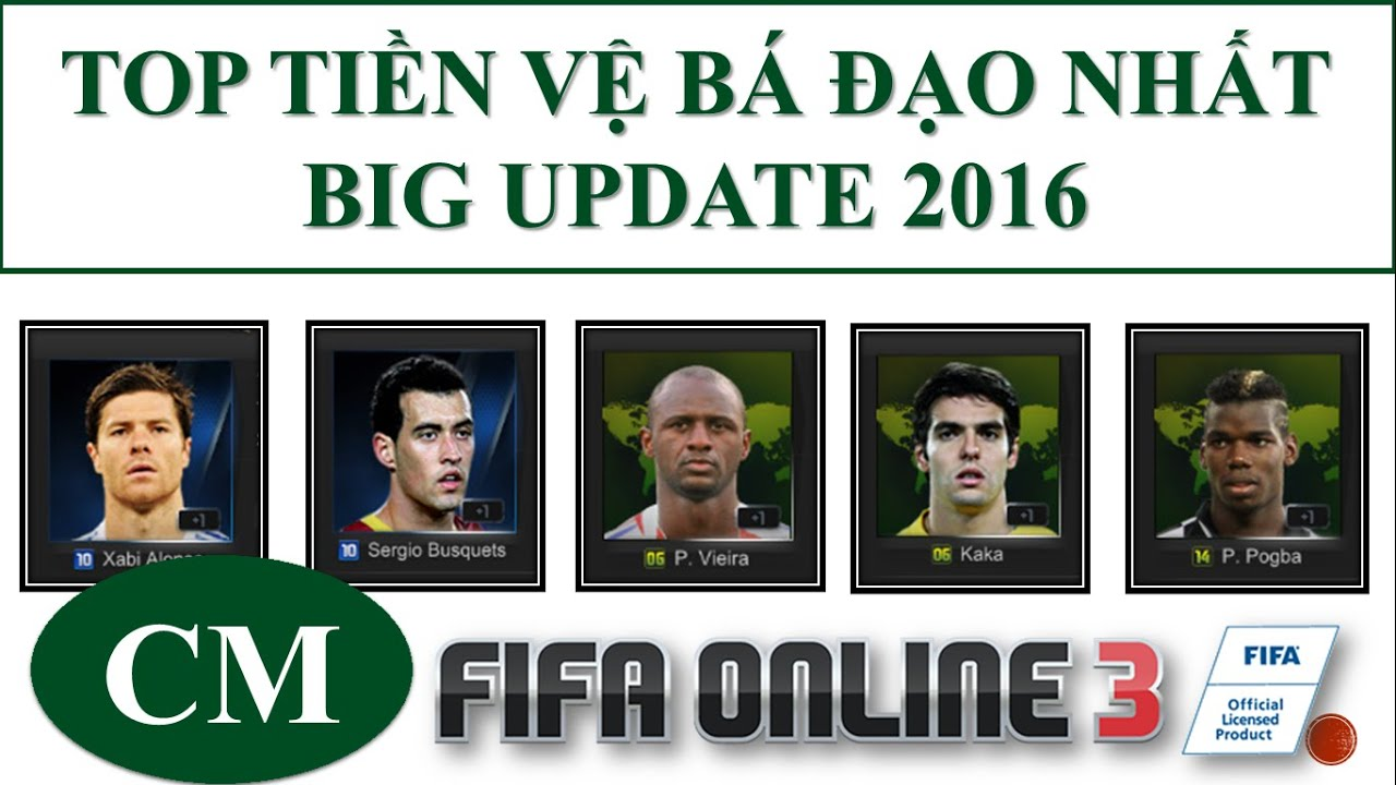 I Love FO3: Big Update Roster Fifa Online 3 SS15 2016: Top Tiền Vệ Hay Nhất #3