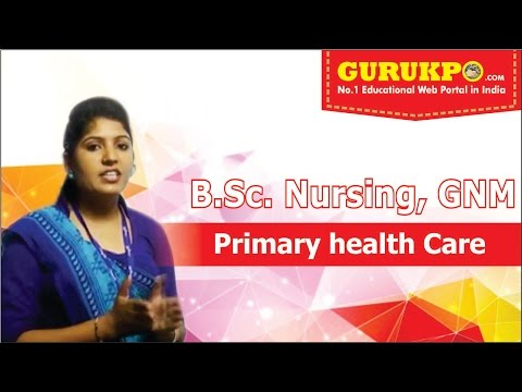 Primary Health Care by Miss Pinky Choudhary, Biyani Groups of Colleges