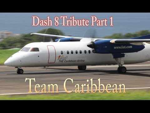 LIAT Dash-8 300/100 Tribute Part 1 from Team Caribbean (HD 1080p)