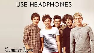 One Direction- Summer Love (8D Music)