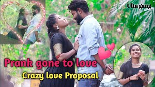 Prank gone to love || Ulta gang || Telugu prank || Telugu love proposal prank || Telugu prank videos