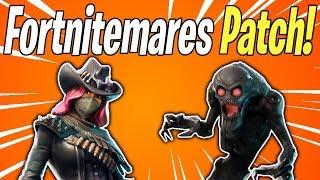 FORTNITEMARES v6.20 PATCH NOTES! Fortnitemares Begins TODAY | Fortnite Save The World News
