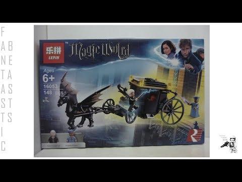 Lepin Lego Bootleg Fantastic Beasts Grindelwald's Escape Set 16053 Review