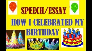 Learning English Essay Amandas Birthday Essay Making Champs Student Speaking Confidently On My  Best Birthday Party Write Your College Essay In Less Than A Day Stop  College Essay Papers also Thesis Statement Analytical Essay Essay On My Best Birthday Party  Neovativedesigncom High School Argumentative Essay Topics