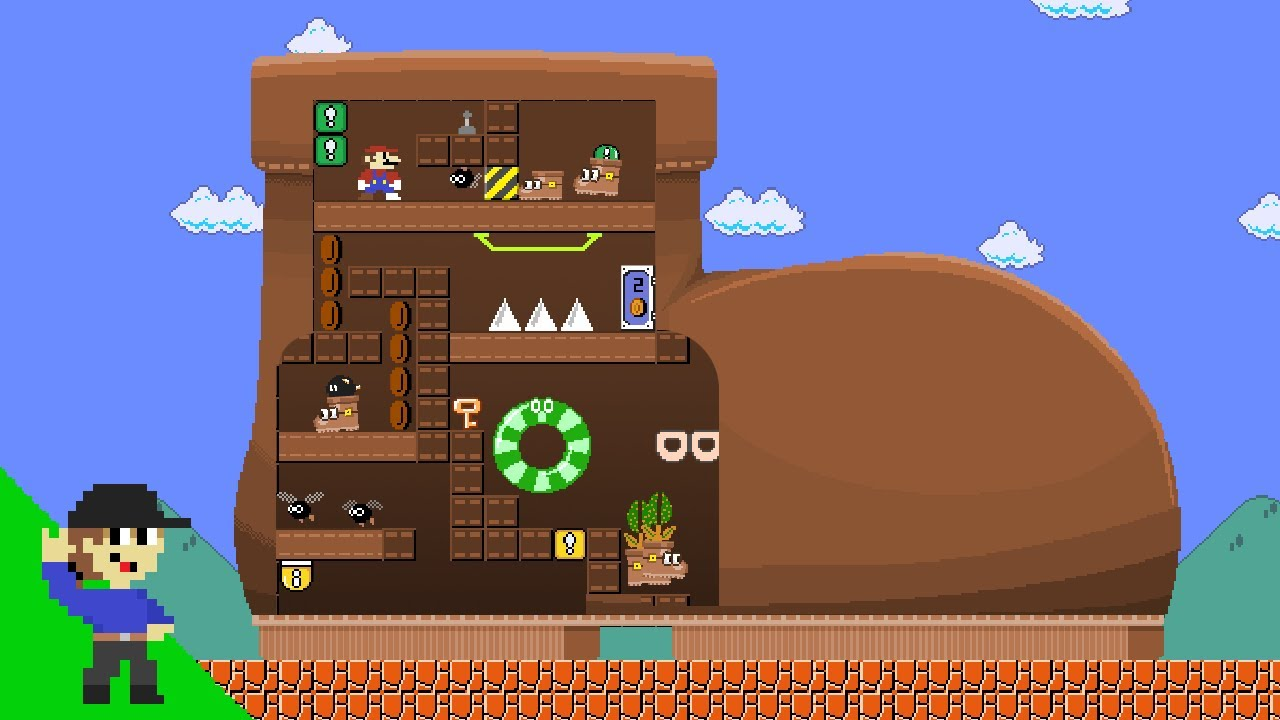 Level UP: Mario and the Giant Boot Maze