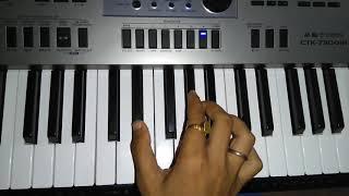 Gujrati Garba beat on keyboard