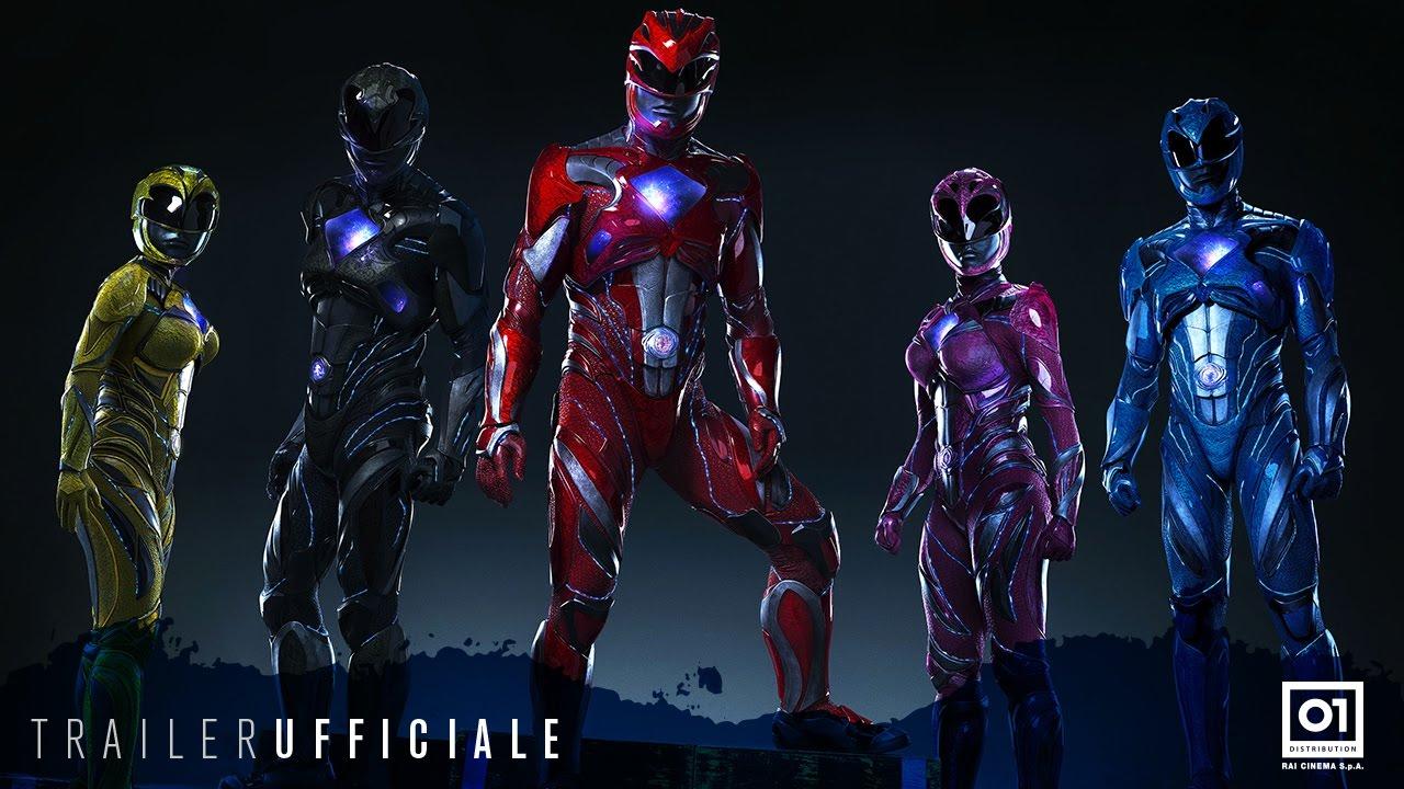 Power Rangers Trailer Italiano Ufficiale Youtube