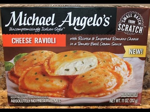 Michael Angelo's: Cheese Ravioli Food Review