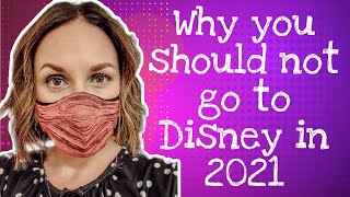 3 Reasons NOT to visit Disneyland Paris in 2021 | Disney Parks rides, shows and food in 2020 / 2021