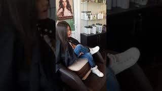 Melissa первый поход в салон красоты