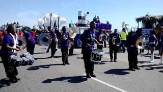 2014 Mardi Gras Parade in Galveston Texas
