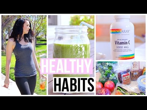10 Healthy Habits Everyone Should Do Every Day!