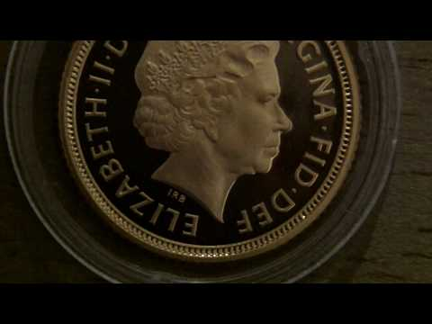 2003 Proof Gold Half Sovereign