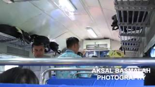 Naik Kereta Api Cirebon Ekspres Bisnis Dari Gambir Menuju Cirebon