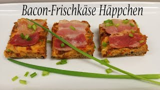 Thermomix® TM31-TM5-TM6    Bacon-Frischkäse Häppchen