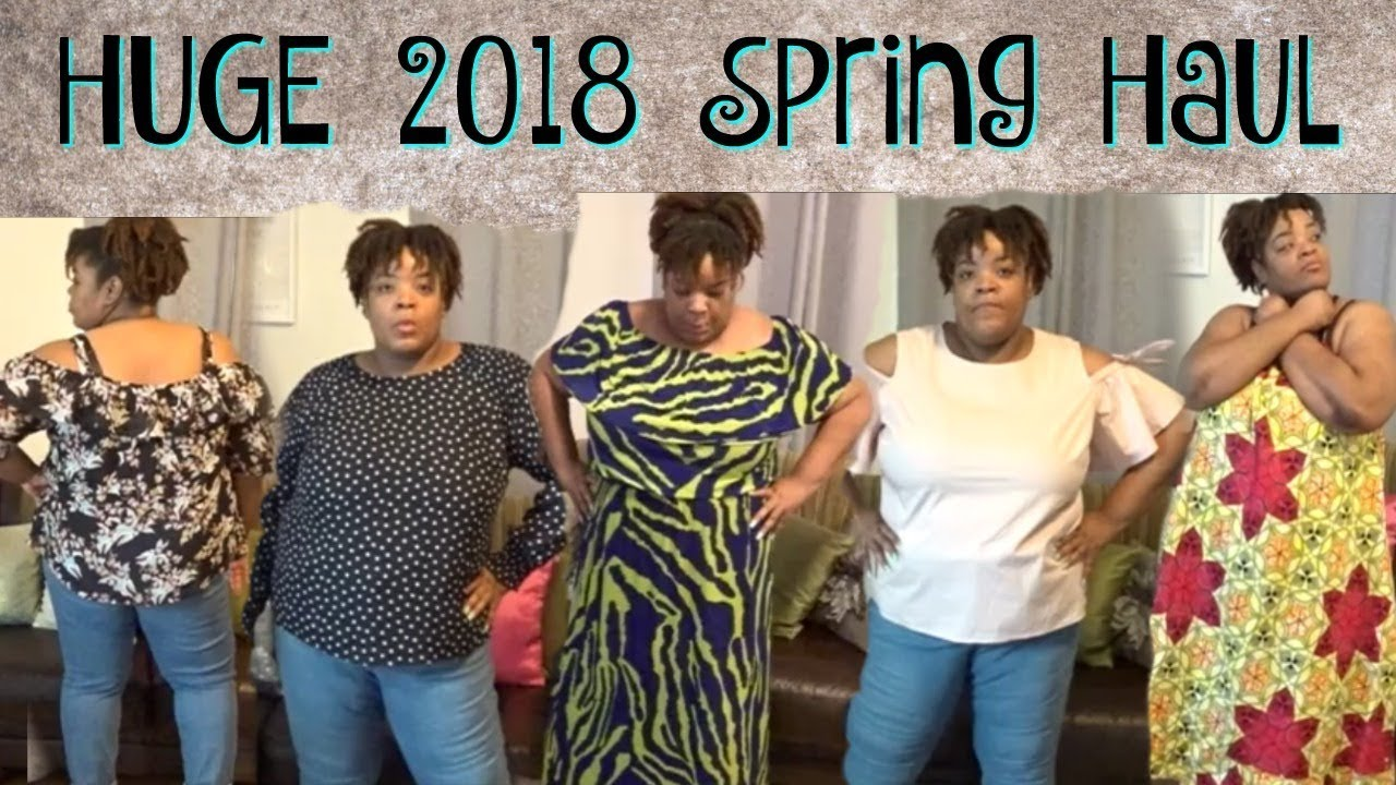 HUGE Plus Size Spring 2018 Fashion Haul   ❤LifeWithLisa343?   Casual & Business Attire 3