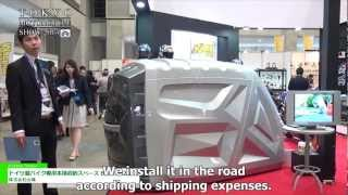 Motorcycle Storage Space Bikebox24 - Yamashiro Co., Ltd.
