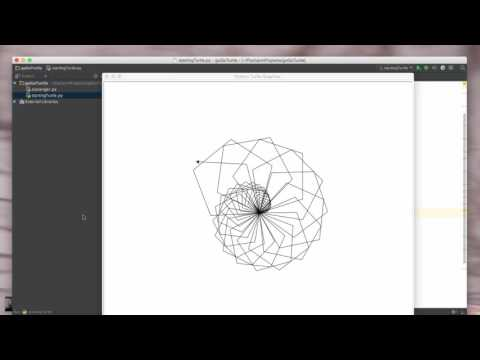 Python: Turtle Graphics - Shifting Colors and Shapes