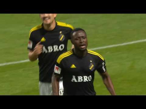Obasis drömmål mot Norrköping!