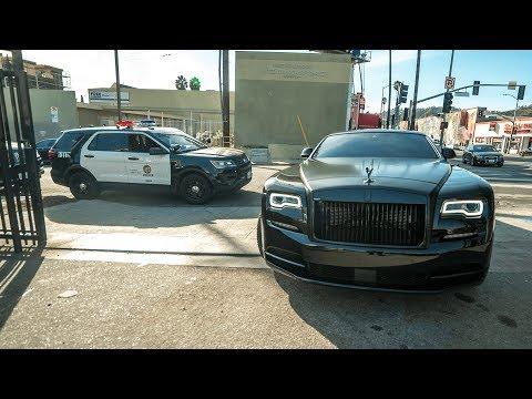 #RDBLA Police vs. Rolls Royce, Widebody Lambo, lots of Servicing