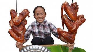 Bà Tân Vlog | Cánh Gà Tây Khổng Lồ Nướng Siêu Cay | bbq chicken
