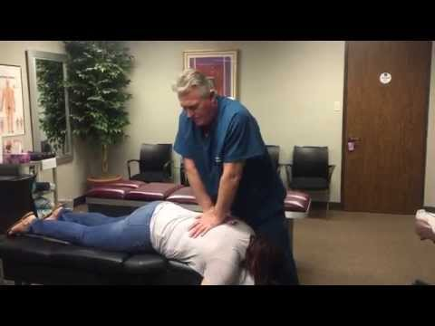 Houston Chiropractor Dr  Gregory Johnson Sees Patient For 1st Time Ever Chiropractic Experience