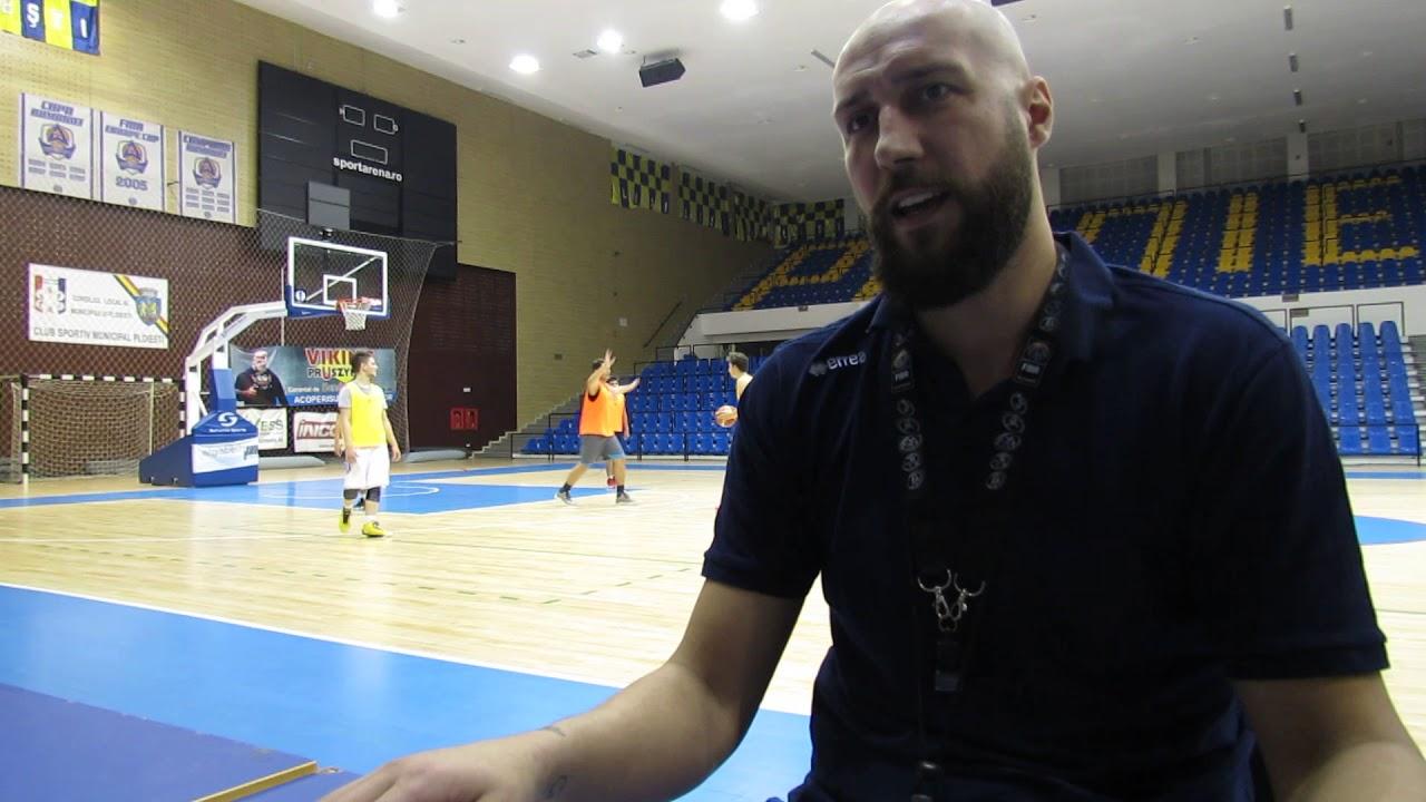 "Catalin Burlacu: ""Vreau ca baschetul sa ramana viu in Ploiesti"""